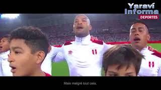 Emotivo video de Perú a Francia: