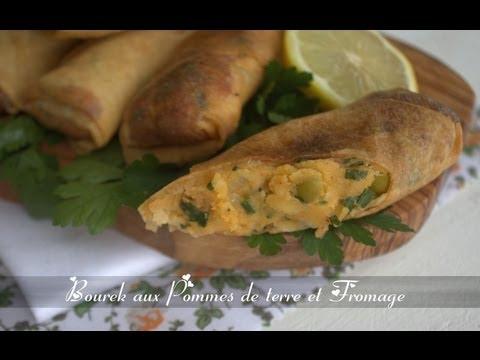 bourek aux pommes de terre et fromage / recette de ramadan 2013