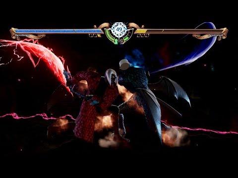 Soul Calibur 6 - Dante Devil Trigger VS Vergil Devil Trigger (Devil May Cry - Character Creation) thumbnail