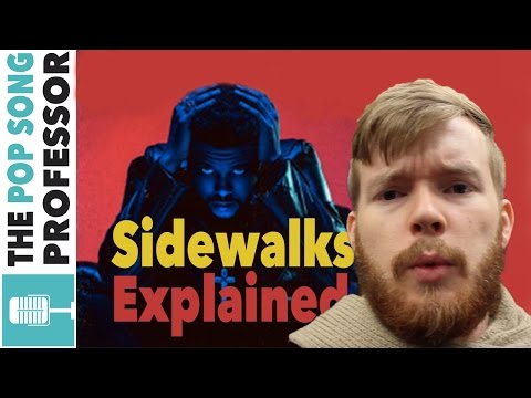 The Weeknd - Sidewalks ft Kendrick Lamar   Song Lyrics Meaning Explanation  amp  VLOG Poster