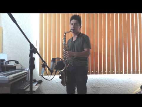 Caribbean Queen (sax solo)