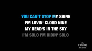 "Ridin' Solo in the Style of ""Jason Derulo"" karaoke video with lyrics (no lead vocal)"