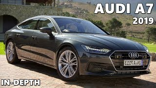 2019 Audi A7 (Triton Blue) Driving, Exterior, Interior