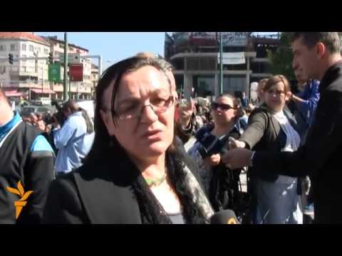 Protest gluhih osoba u Sarajevu