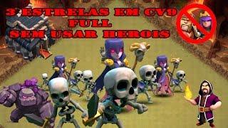 Clash of Clans | GoWiWi - 3 Estrelas em CV9 Full SEM USAR HEROIS
