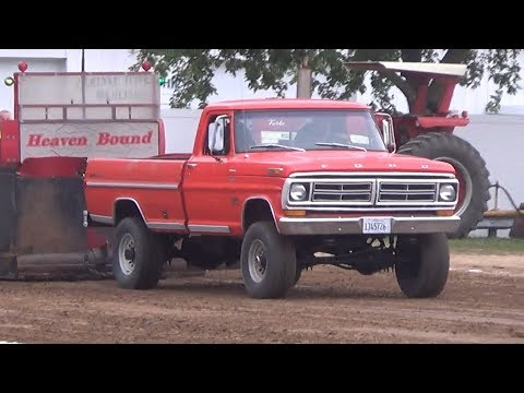 Central Illinois Truck Pullers - 2016 Clinton County Fair - Carlyle, IL Truck Pulls