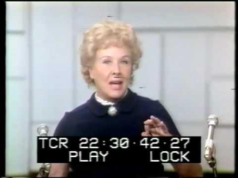 Vivian Vance talk   from 1970