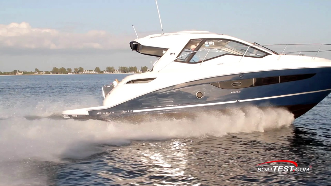 Sea Ray Sundancer 350 Coupe 2017 Features Video By Boattest Com