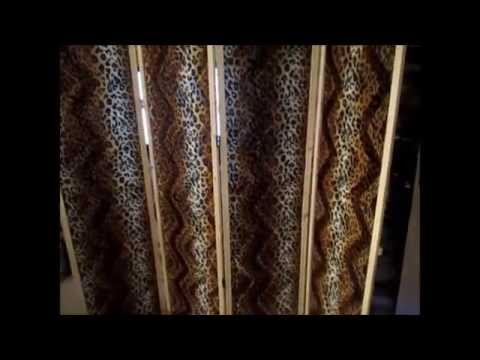 fabrication d 39 un paravent youtube. Black Bedroom Furniture Sets. Home Design Ideas