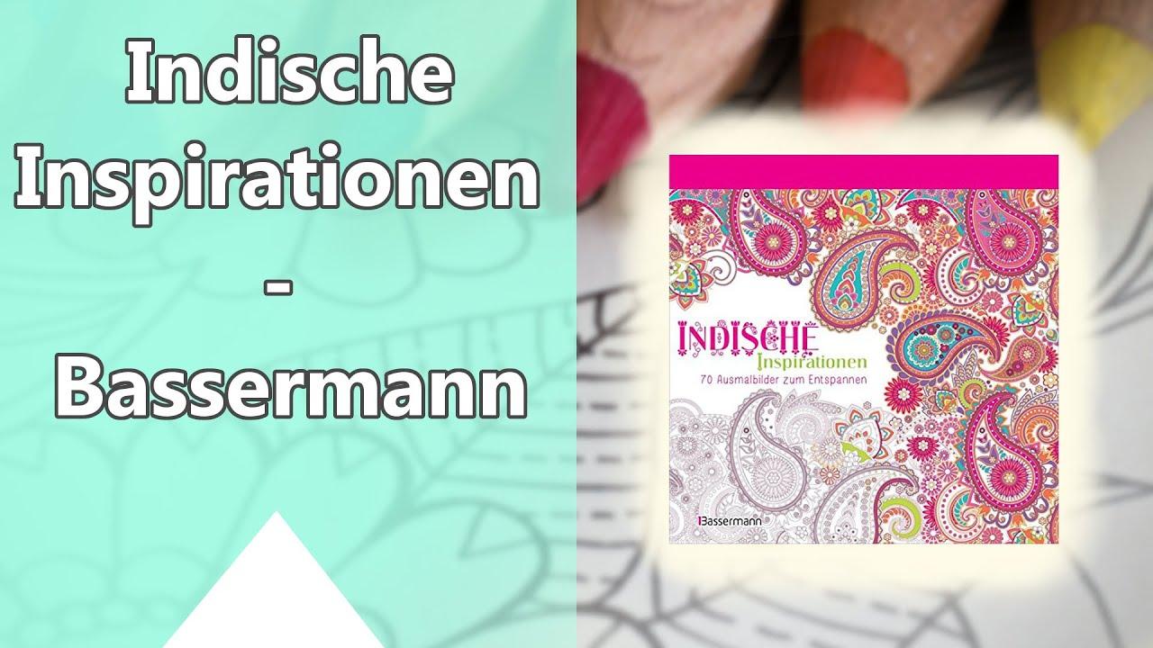 Indische Inspirationen 70 Ausmalbilder Zum Entspannen Bassermann