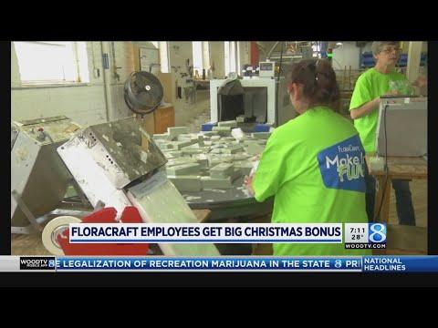 FloraCraft employees get big Christmas bonus Mp3