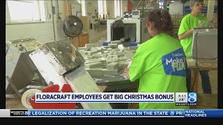 FloraCraft employees get big Christmas bonus