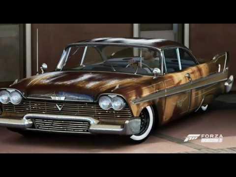 Design Envelhecido Carros Antigos Ll Tonad Ll Forza Horizon