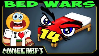 ч.14 Bed Wars Minecraft - Вообще все против нас!!!