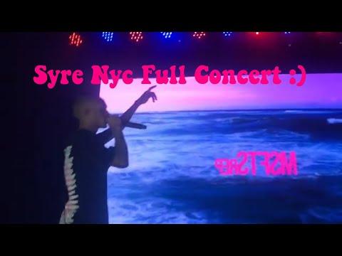 Syre Jaden Smith Concert |Vlog w my bf / I got hit😂