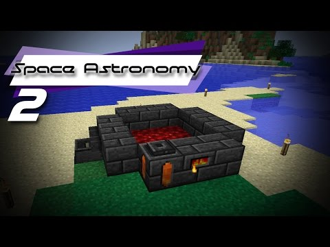 Crafting a Basic Forge   FTB   Space Astronomy #2
