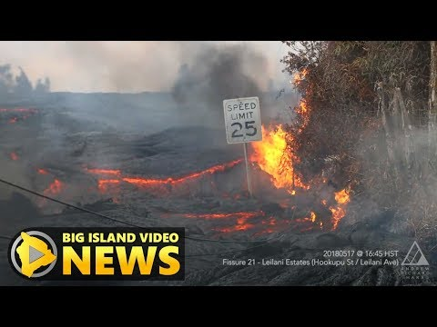 Hawaii Volcano Eruption Update - Friday Morning (May 18, 2018)
