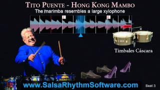 Tito Puente - Hong Kong Mambo * Salsa Rhythm On-2 Timing Video