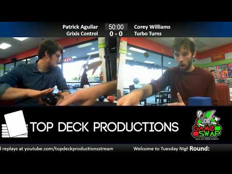 Modern w/ Commentary 6/20/17: Patrick Aguilar (Grixis Control) vs. Corey Williams (Turbo Turns)