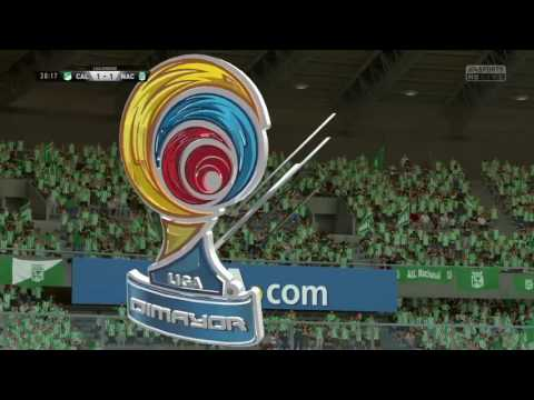 FIFA 17 PS4 Deportivo Cali VS Atletico Nacional