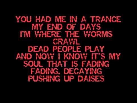 Escape the Fate - Zombie dance with Lyrics (HD/HQ)