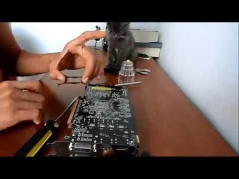 Mantenimiento y Desmontaje GPU Radeon HD 6850