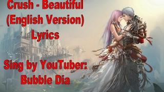 Crush - Beautiful English Lyrics (Goblin) Mp3