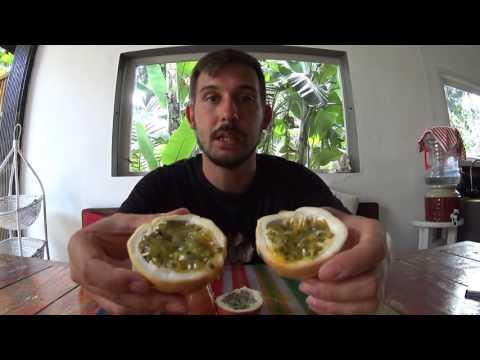 Passion fruit Маракуйя и как его есть
