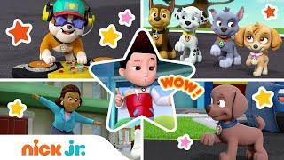Top 5 Dance Moves 🎶 Best of PAW Patrol | PAW Patrol | Nick Jr.