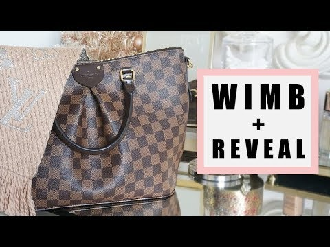 8fc3a5c06a What's in my bag + Reveal! (Louis Vuitton Siena MM)