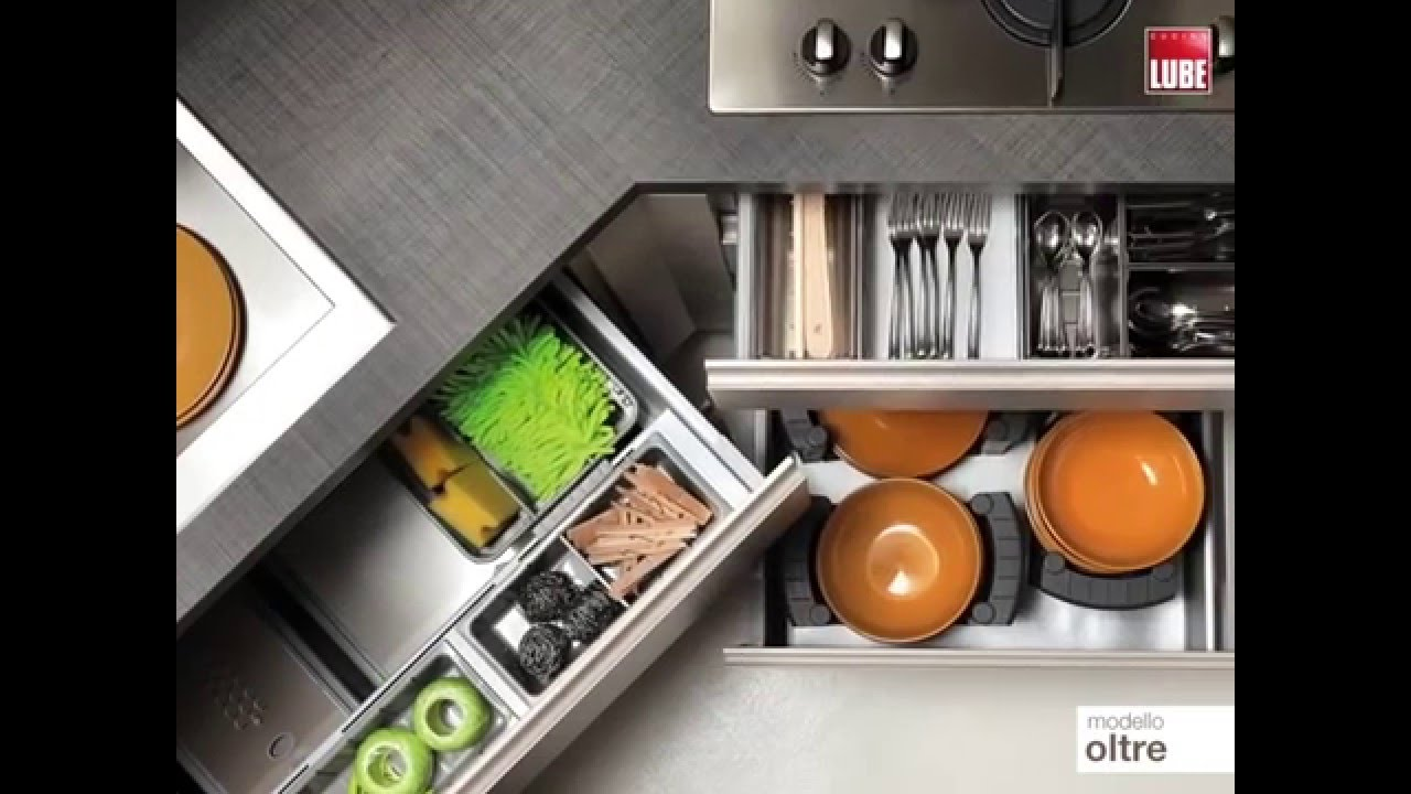 modello oltre cucine lube roma - youtube - Top Cucine Lube