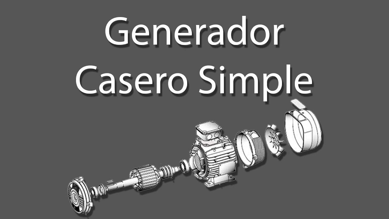 Mini generador casero ideal para cortes de luz youtube - Generador de luz ...