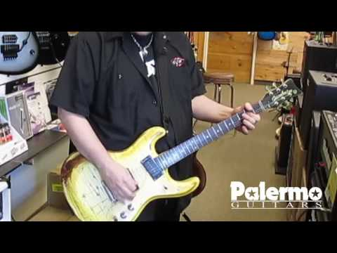 Danelectro 64 Relic'd by Palermo Guitars for Tommy Henriksen Alice Cooper Hollywood Vampires