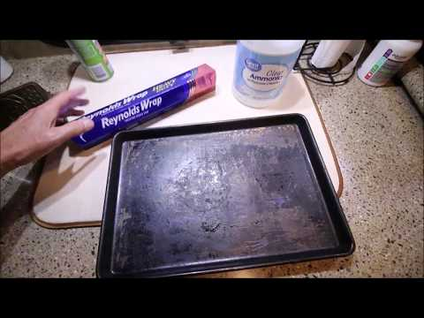 How to clean cookie sheets vinegar
