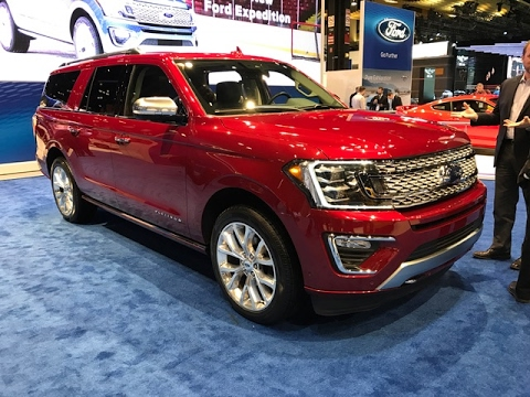 Ford Expedition Redline First Look  Chicago Auto Show