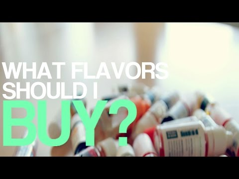 DIY Ejuice Mixing Tips: What flavors should I buy?