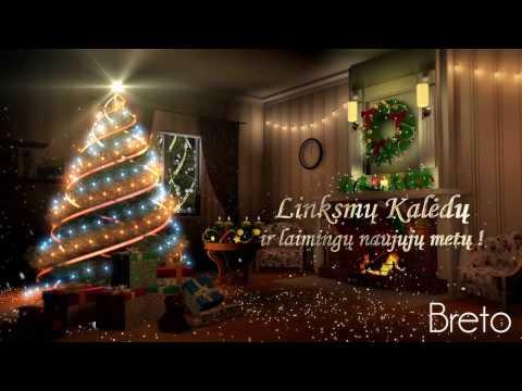 Linksmų Kalėdų ir laimingų naujųjų metų | Kalėdinis sveikinimas iš Breto