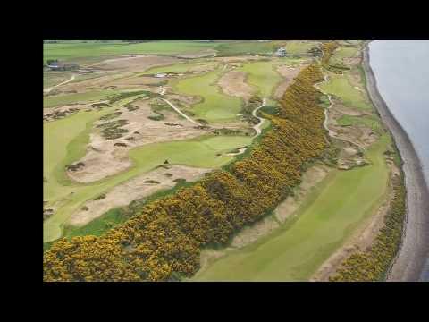 Castle Stuart Golf Aerial Flyover