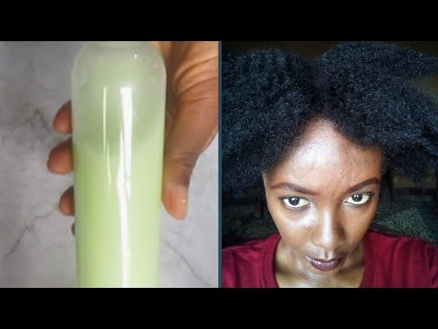 How to use a Rice milk (Rice water) shampoo for fast and healthy natural hair growth