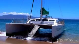Kaanapali Beach Trilogy IV Catamaran, Maui - Super Beaches Hawaii