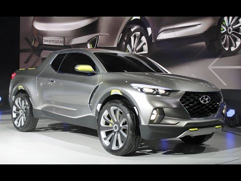 Hyundai Santa Cruz Concept Detroit Auto Show YouTube - Santa cruz car show