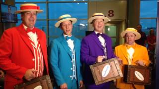 """""""Dapper Dans"""" Sing an Excerpt from """"Let It Go"""" to celebrate SWA's Dallas-to-Orlando Nonstop Flight"""