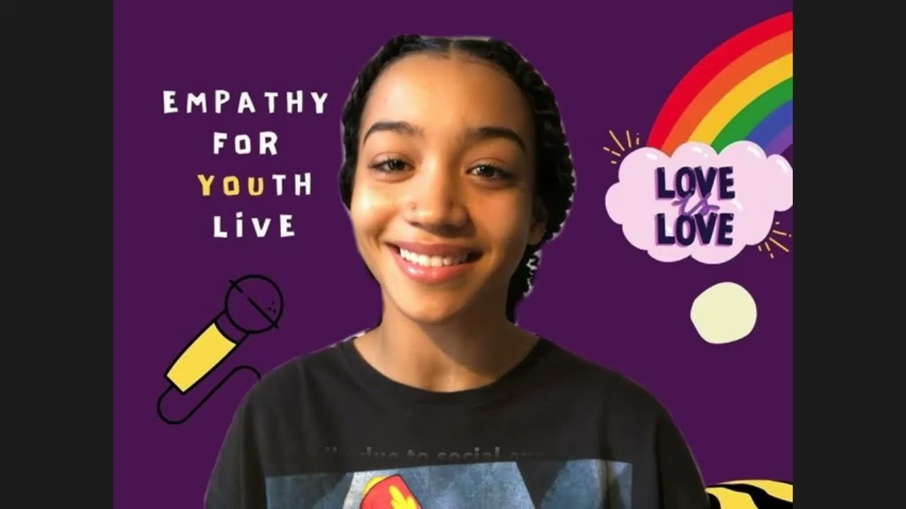 MENTAL HEALTH: Empathy For Youth Live for Pride Month