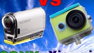Videoconfronto Sony HDR AS 100VR vs Xiaomi YI