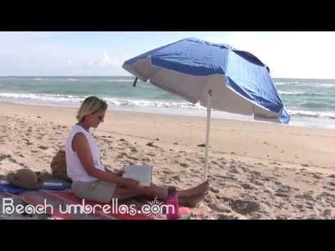 Portabrella Portable Travel Beach Umbrella