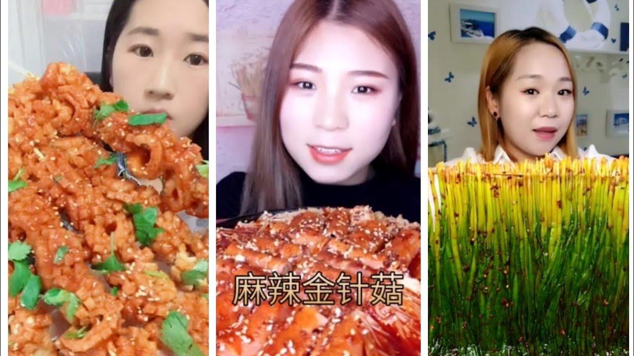【MUKBANG】EATING STRANGE CHINESE FOOD COMPILATION●AMAZING FOOD EATING SHOW P2