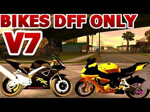 GTA SA ANDROID: New Bikes Dff Only No Txd V7 No Pc No Import No Txd folder  MUST WATCH AND DOWNLOAD!