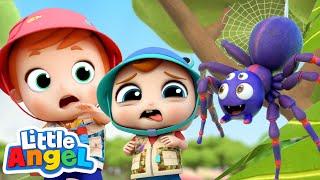 Bugs Song | Little Angel Kids Songs & Nursery Rhymes