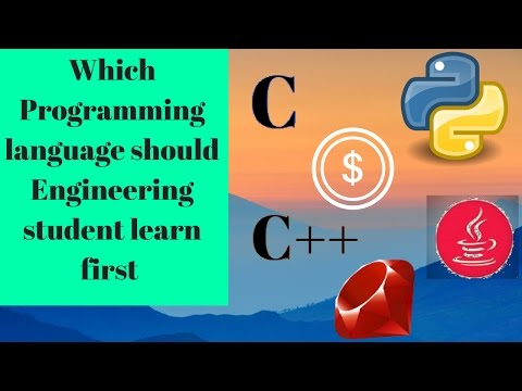 which programming language should engineering student learn first [Coding]😀