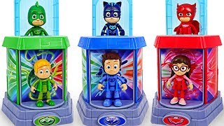 PJ Masks New pop up elevator Transformation base appeared! | DuDuPopTOY